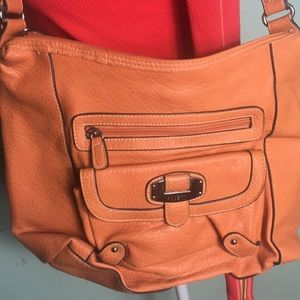 Rosetti orange purse